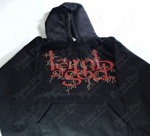Lamb Of God - As The Palaces Burn Barbed Logo Hoodie