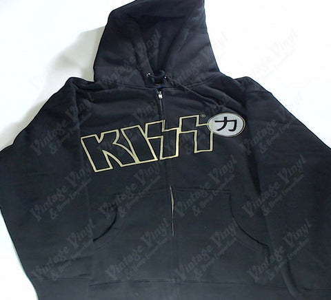 Kiss - Hotter Than Hell Zip-Up Hoodie