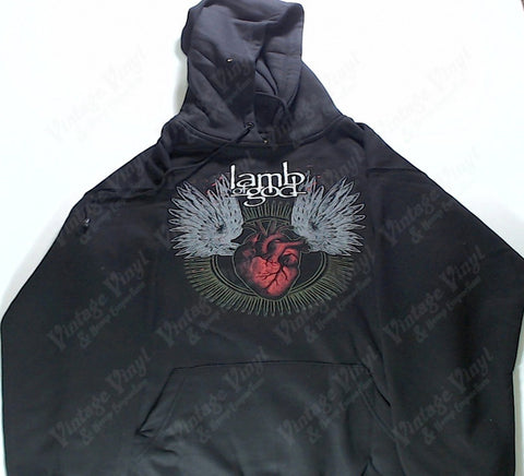 Lamb Of God - Winged Heart Hoodie