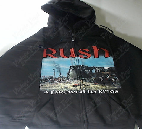 Rush - A Farewell To Kings Zip-Up Hoodie