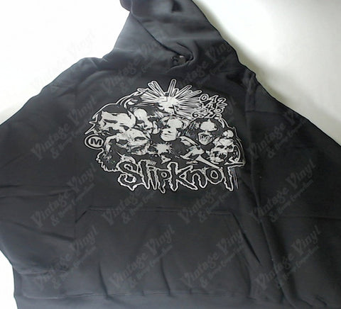Slipknot - Grey Faces Together Hoodie