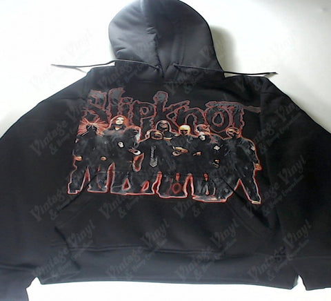 Slipknot - Glowing Red Band Hoodie