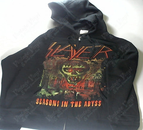 Slayer - Seasons in The Abyss Zip-Up Hoodie