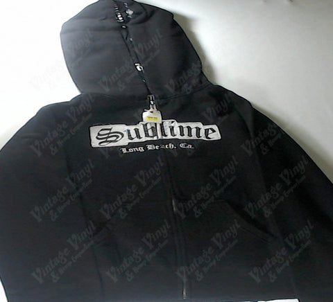 Sublime - Long Beach, CA Embroidered Zip-Up Hoodie