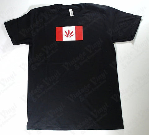 Canada - Pot Leaf Flag Novelty Shirt