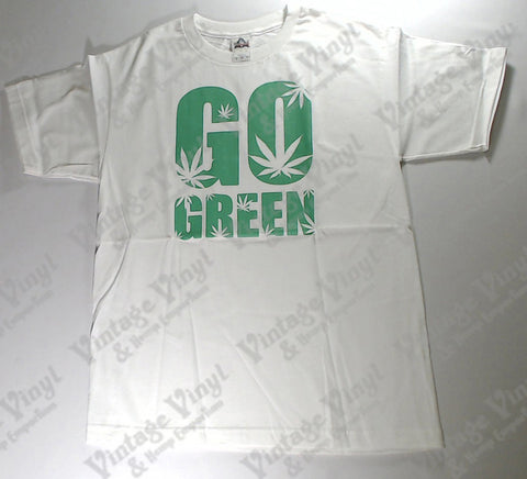 Go Green - White Novelty Shirt