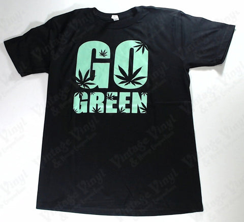 Go Green - Black Novelty Shirt