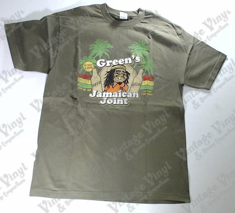 Green's Jamaican Joint - Green Novelty Shirt
