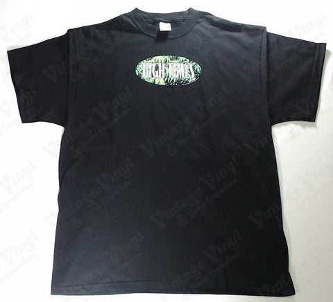 High Times - Leaves Oval Logo Novelty Shirt