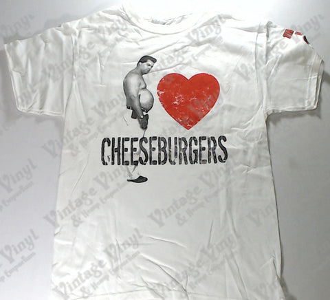 Trailer Park Boys - Randy <3 Cheeseburgers White Shirt