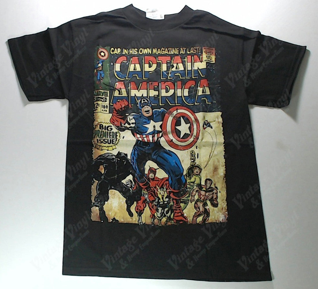 Captain America - Classic Comic Shirt