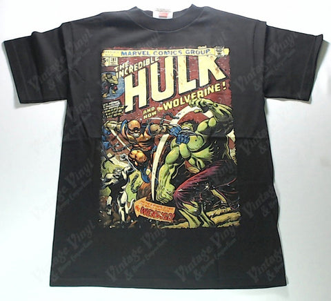 Hulk, The - Vs Wolverine Shirt