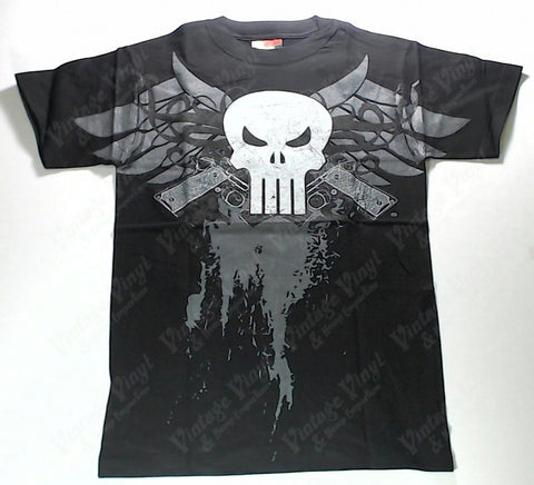 Punisher - Winged Skull With Guns Shirt