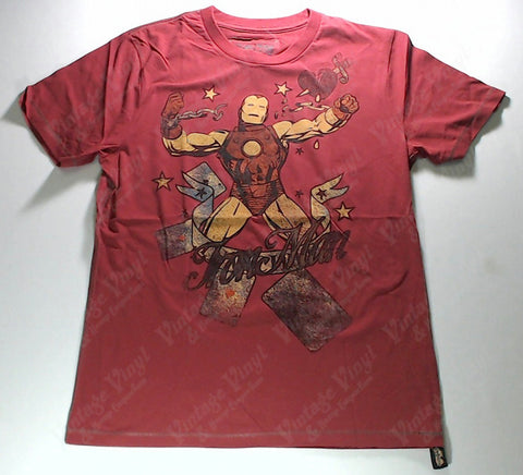 Iron Man - Classic Breaking Chains Red Shirt