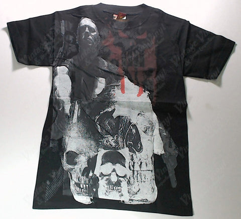 Punisher - Frank Castle And Skulls All-Over Print Shirt