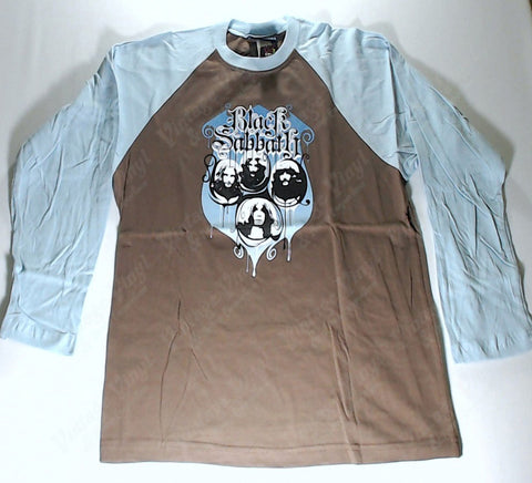 Black Sabbath - Blue and Brown Long Sleeve Shirt