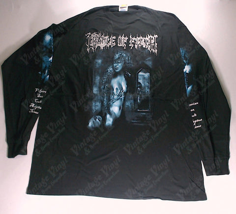 Cradle Of Filth - Filthy Little Secret Blue Woman Long Sleeve Shirt