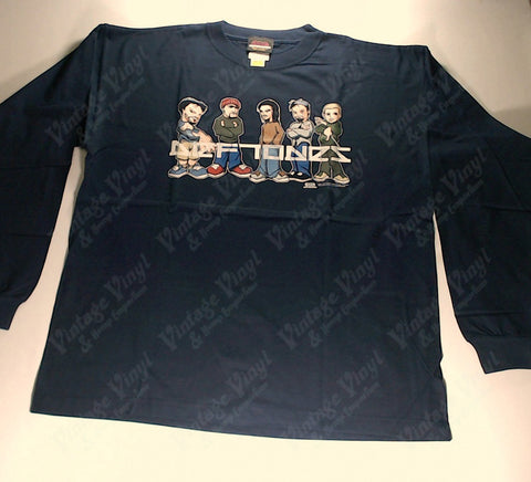 Deftones - Navy Anime Band Long Sleeve Shirt