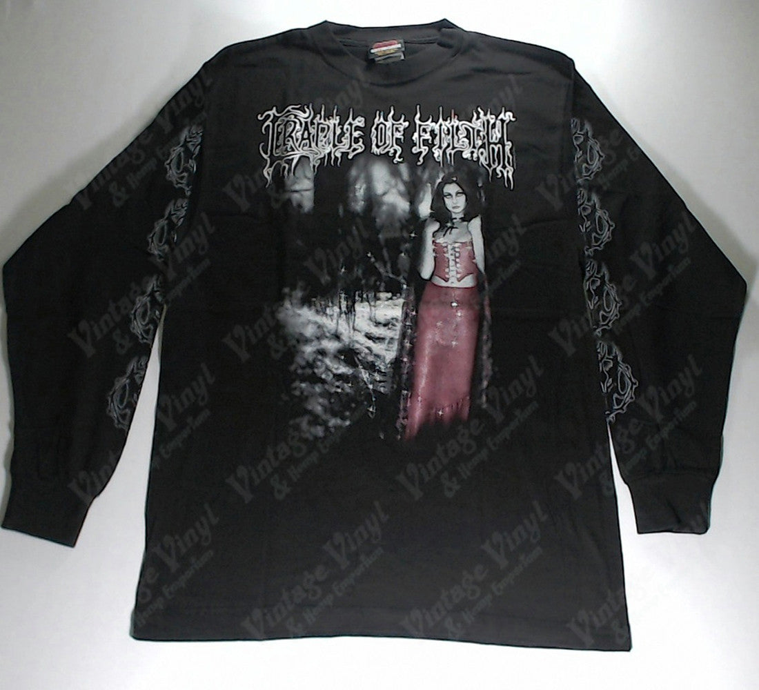 Cradle Of Filth Wolf In Creeps Clothing Red Woman Long