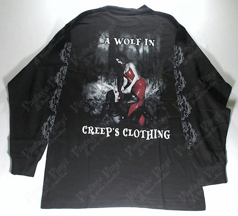 Cradle Of Filth - Wolf In Creeps Clothing Red Woman Long Sleeve Shirt