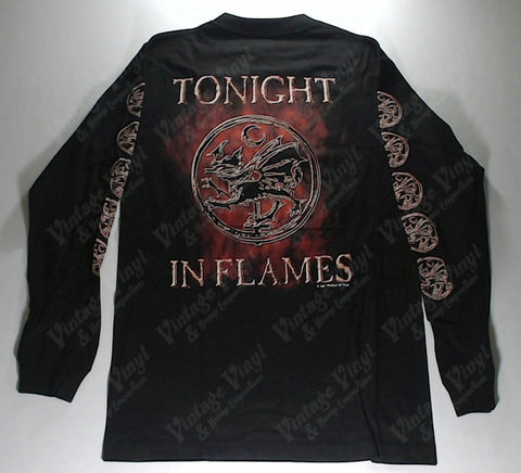 Cradle Of Filth - Crucified Burning Cross Long Sleeve Shirt