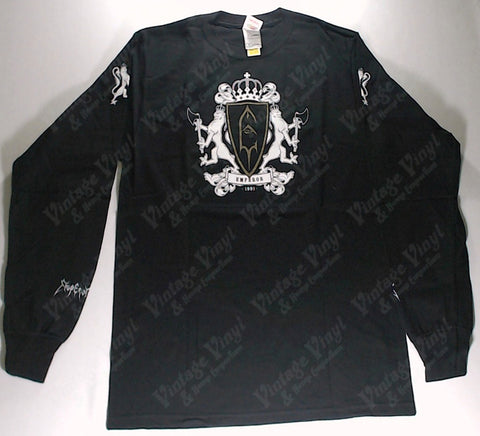 Emperor - Gold Coat Of Arms 1991 Long Sleeve Shirt