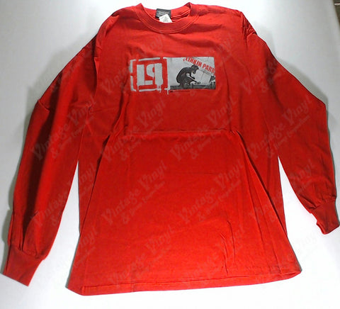 Linkin Park - Graffiti Artist Red Long Sleeve Shirt