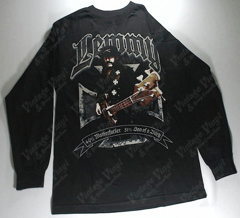 Motorhead - Lemmy 49% Motherf**ker, 51% Son Of A Bi*ch Long Sleeve Shirt