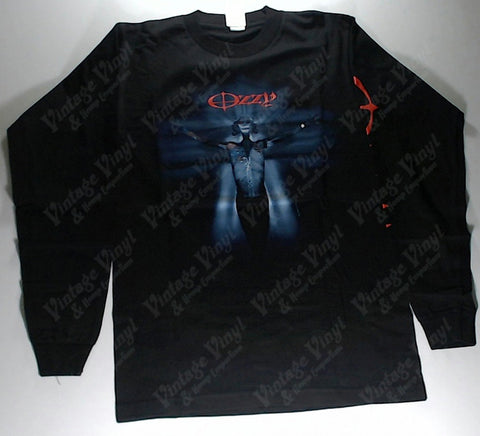 Ozzy - Crucified Blue Being Long Sleeve Shirt
