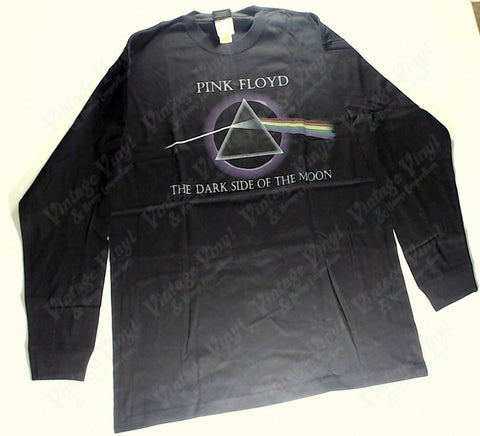 Pink Floyd - Dark Side Purple Glow Long Sleeve Shirt