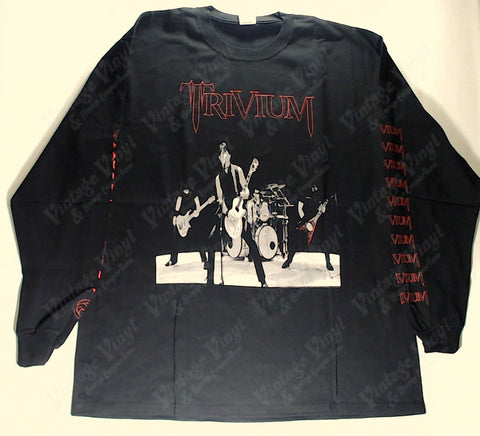 Trivium - Band Playing Long Sleeve Shirt