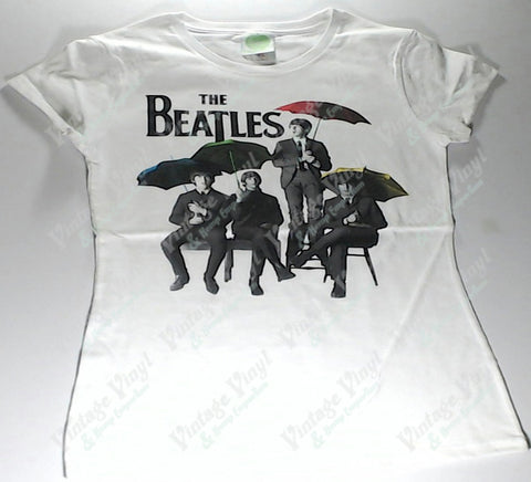 Beatles, The - Band Umbrellas Girlie Shirt