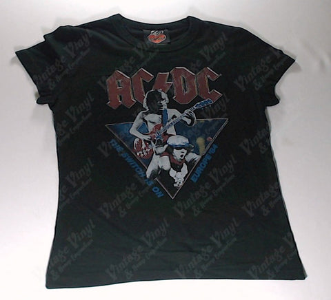 AC/DC - The Switch Is On Girlie Shirt