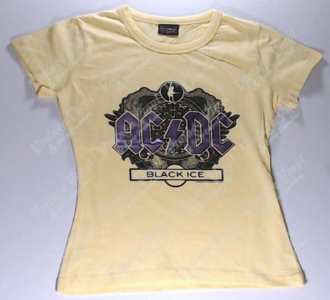 AC/DC - Yellow With Purple Girlie Shirt