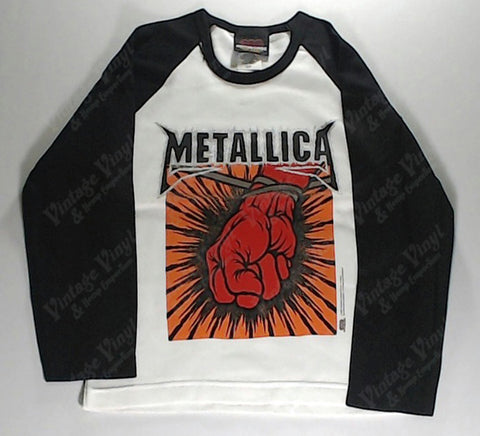 Metallica - St. Anger Long Sleeve Girlie Shirt