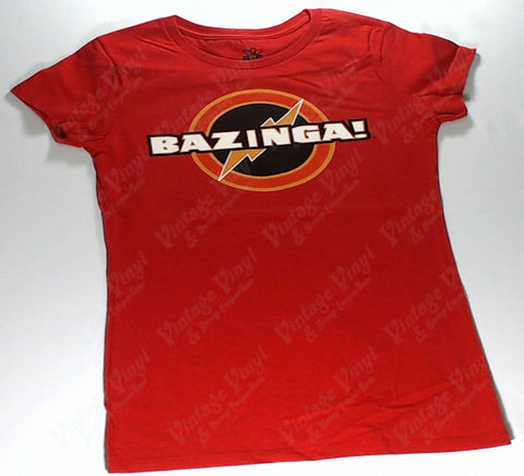 Big Bang Theory, The - Red Bazinga Girlie Shirt