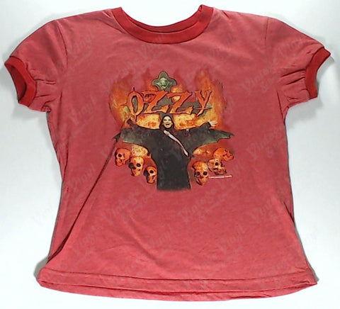 Ozzy - Fire Red Girls Youth Shirt