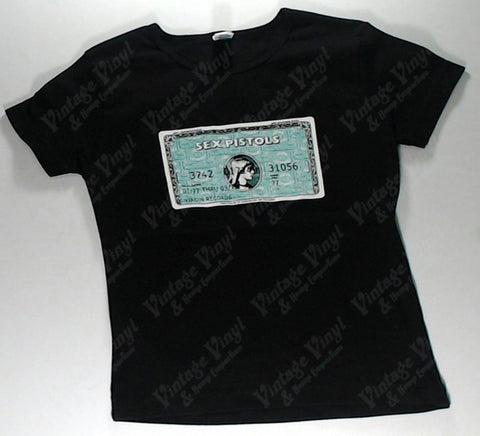 Sex Pistols - Credit Card Girls Youth Shirt