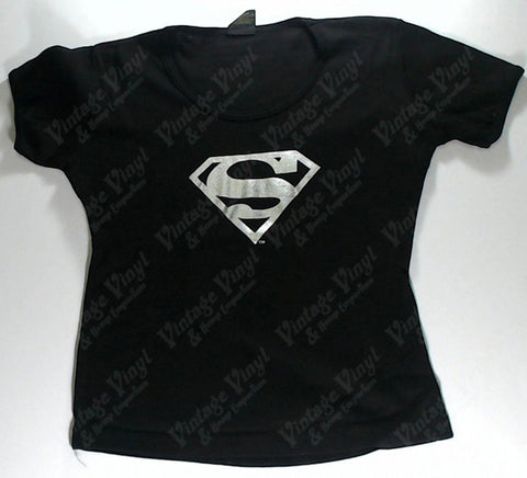 Superman - Silver S Girls Youth Shirt