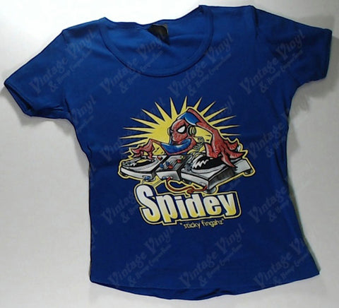 Spider-man - DJ Girls Youth Shirt