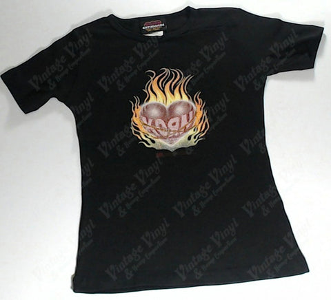 Korn - Flaming Heart Girls Youth Shirt
