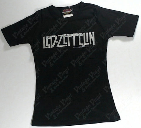 Led Zeppelin - Silver Logo Girls Youth Shirt
