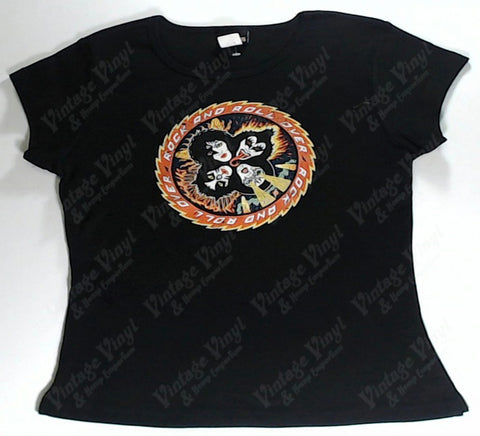 Kiss - Rock and Roll Over Girls Youth Shirt
