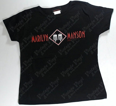 Manson, Marilyn - MM Logos Girls Youth Shirt