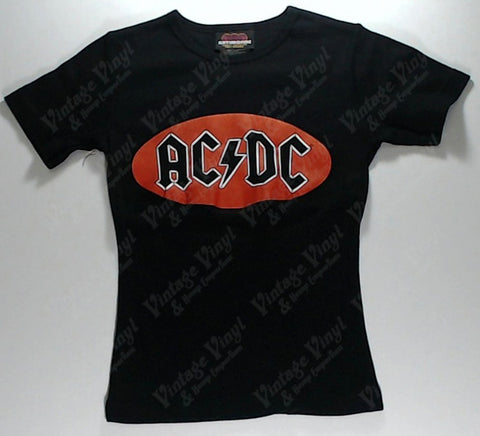 AC/DC - Red Circle Girls Youth Shirt