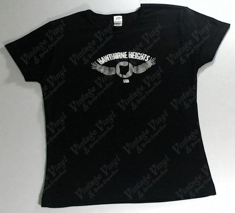 Hawthorne Heights - Wing Logo Girls Youth Shirt