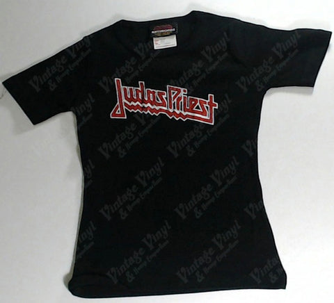 Judas Priest - Red Logo Girls Youth Shirt