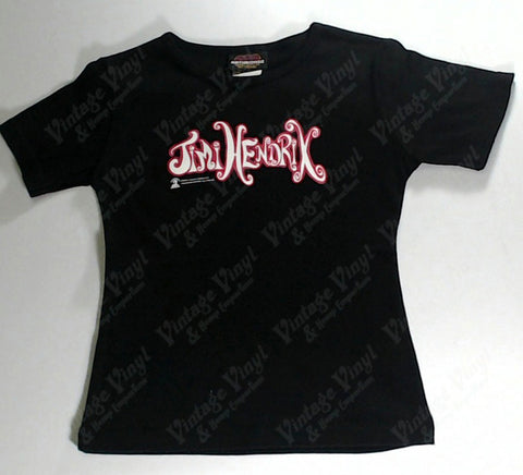Hendrix, Jimi - Pink Logo Girls Youth Shirt