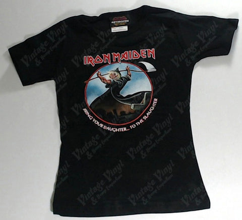 Iron Maiden - Bring Your Daughter…To The Slaughter Girls Youth Shirt
