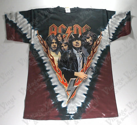 AC/DC - Band Highway Liquid Blue Shirt